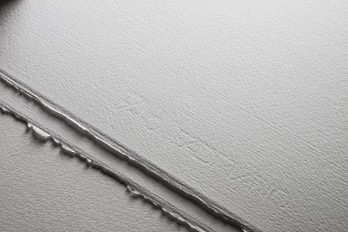 Unbekannt Fabriano Disegno 5'-Cartoncino ad Acquerello, 300 g/m2, 31 x 41 cm, 20 Fogli, 4 Lati, Senza Cloro e acidi, Bianco