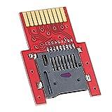 pedkit Tarjeta de Juego, SD2VITA PSVSD Adaptador Micro SD Tarjeta de Transferencia de Memoria para PS Vita 1000 2000 Henkaku 3.60