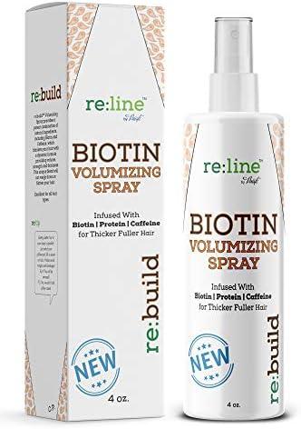 Biotin Volumizing Spray for Hair Thickening Spray All Natural Biotin Spray for Thinning Hair product image