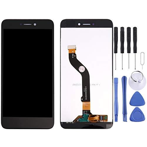 NANSHAN LCD Kit de reemplazo de Pantalla de visualización, para Huawei P8 Lite 2017 Pantalla LCD y digitalizador de ensamblaje Completo - con Herramientas de reparación. (Color : Negro)