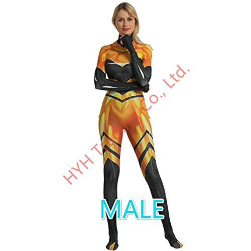 EQWR Anime Queen Bee Ladybug Girls Jumpsuit Disfraces de Cosplay Lady bug Zentai Body Halloween Party Lady Bug Disfraz Traje Ropa L MASCULINO