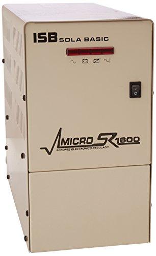 Industrias Sola Basic Micro SR 1600 XR-21-162 Soporte Electrónico Regulado