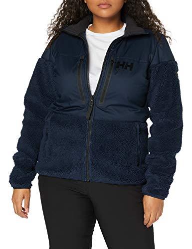 Helly Hansen Arctic Ocean - Giacca in pile antivento da donna, Donna, Giacca di pile, 34082, blu navy, L