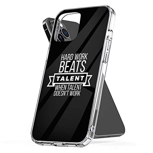 Bakugou Phone Case Hard Work Beats Talent When Talent Doesnt Work Compatible with iPhone 12/12 PRO 12 PRO Max 11 11 PRO Max XR SE 2020/7/8 X/XS 7 8 6/6s Plus Samsung Galaxy S20 S21 Ultra Plus