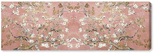 The Oliver Gal Artist Co Floral and Botanical Wall Art Canvas Prints Van Gogh in Blush Blossoms product image