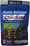 Bioglan Biotic Balance Dark Choc Balls, 3 Billion CFU Probiotic, live cultures wrapped in delicious dark chocolate, contains Lactobacillus Rosell, Bifodobacterium Rosell, & Inulin. – 30 balls