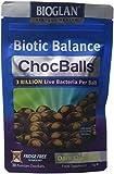 Bioglan Biotic Balance Dark Choc Balls, 3 Billion CFU Probiotic, live cultures wrapped in delicious dark chocolate, contains Lactobacillus Rosell, Bifodobacterium Rosell, & Inulin. – 30 balls