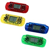 4Pcs Handheld Game Console, Parent-Child Games Console, Retro Mini PSP Game Console with 23 Nostalgic Classic Game, Christmas Birthday Holiday Party Gifts for Kids (B)