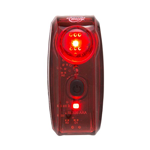 Planet Bike Superflash 65 Bike Tail Light, Red/Black 3095