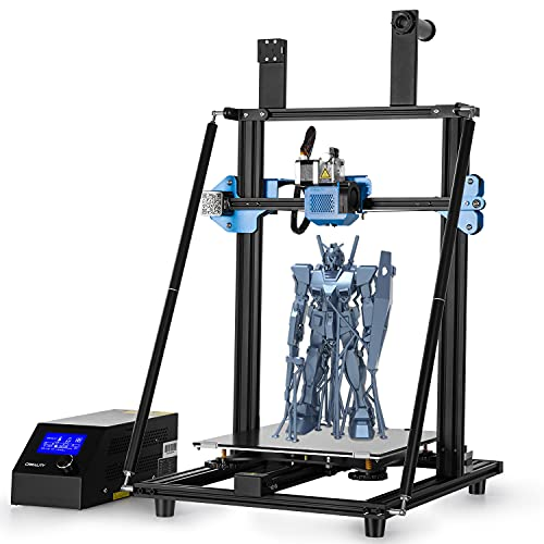 Official Creality CR-10 V3 Upgraded 3D Printer Fully Metal Frame,DIY FDM 3D Printer Kit With Carborundum Glass Platform,Quick Assembly In 3 Steps And Resume Printing Function Build Volume 300*300*400m