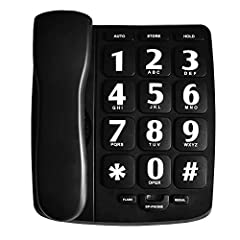 Big button and amplified volume design for the senior who has low vision or hearing problem The volume can be adjustable for handset, ringer and speakerphone(ringer can be turned off) 10 two-touch speed dial memory- Make it quick and easy to connect ...