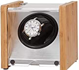 NYZXH Watch Accessories Watch Windoer Winder Winder Automatic Winder - Wood Rotate Electric Watch Box Silent Motor Watch Case, Cumpleaños Fathers Day Madres Regalos Regalos para Hombres y Mujeres
