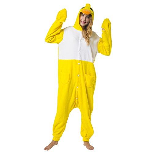Katara (10+ Modelos) Kigurumi Pijamas Disfraz Animal Halloween Adultos  Pollito Talla 145-155cm , color/modelo surtido