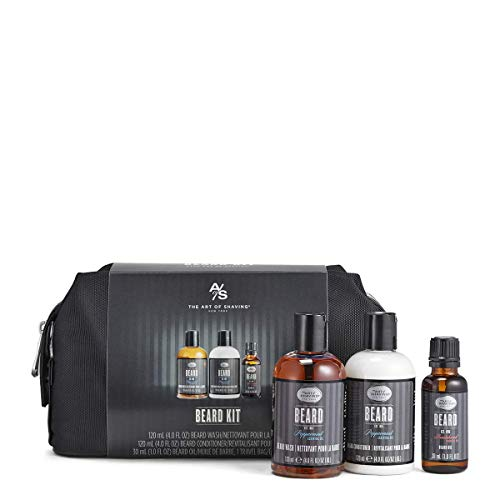 The Art of Shaving Beard Grooming Kit for Men - Beard Kit for Men Grooming and Care with Beard Oil,...