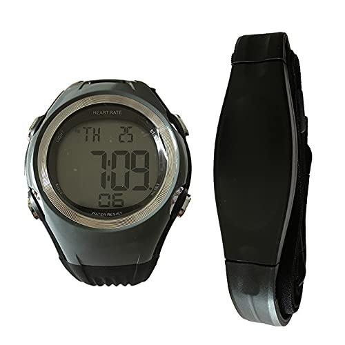 GUILIAN reloj deportivo Correr Correa de pecho Cinturón Fitness Pulso Calorías Monitor de Ritmo Cardíaco Hombres Mujeres Relojes de Pulsera reloj pulsometro ritmo cardiaco