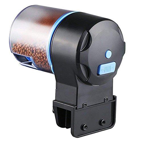 Zantec Dispensador automático de comida del pescado de sincronización inteligente para el acuario