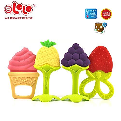 Festnight Manta de Seguridad para beb/és con mordedor Etiqueta Multifuncional en Relieve Toalla Suave Toallita Blanda para beb/és Colgante Acivity Juguetes Fruta