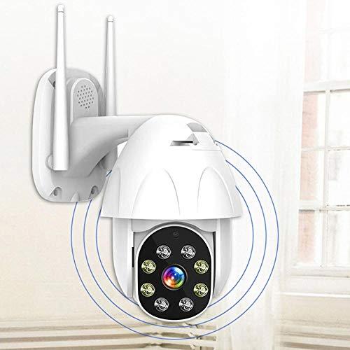 Bewakingscamera, Domo, hoge snelheid, 1080P, WiFi, PTZ, IP-camera, draadloos, 360 graden, 2 MP, geschikt voor buiten. 128G