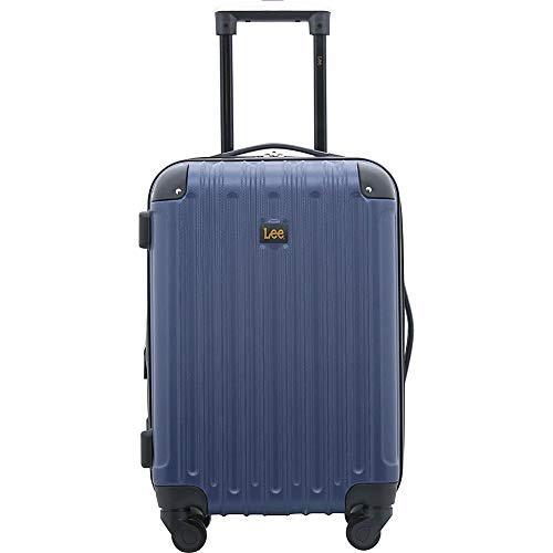 Lee 20' Exp. Hardsided Carry On, Color Option, One Size, Navy Blue