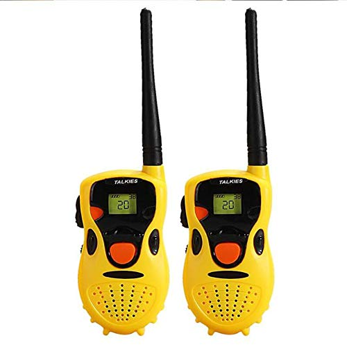 LLVV Equipos Transmisores-Receptores Walkie Talkies para Niños-Juguete Portátil Walkie Talkie Niños Espia Juego Interactive Toy Kid Cute Kid Radio Relogio Interphone