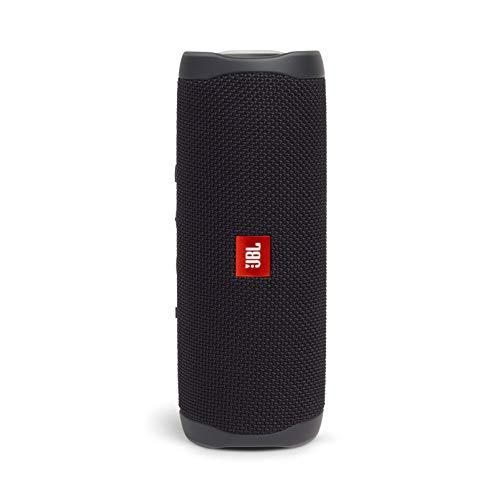 JBL FLIP5 Bluetoothスピーカー IPX7防水/USB Type-C充電/パッシブラジエーター搭載/ポータブル ブラック J...
