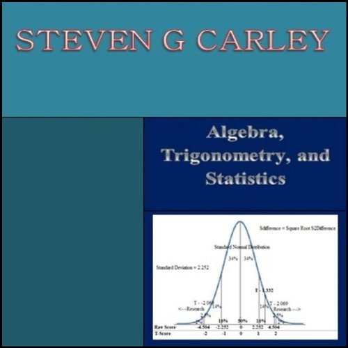 Algebra, Trigonometry, and Statistics audiobook cover art