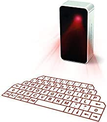 top rated Virtual Bluetooth keyboard with wireless AGS laser projection for iPhone, iPad, smartphones and tablets 2021