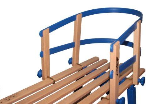 Universal Schlittenlehne für Holzschlitten, Hörnerschlitten Davos
