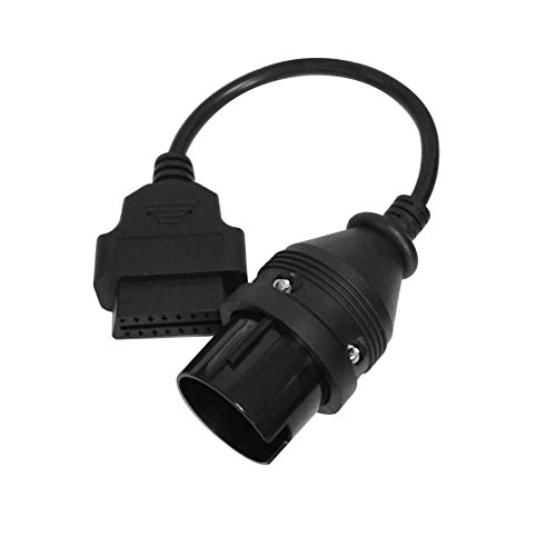 KKmoon OBDii Cable Convertidor Adaptador para Benz 38 a 16Pin (Obd2 cable 38 a16Pin)