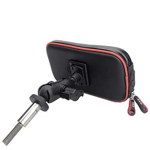 PZZZHF Marco de Accesorios de la Motocicleta GPS móvil Monte de teléfono Soporte for BMW R1200 RT / R1200RT LC / R1250 RT / K1600 GT / K1600 GTL (Color : 4.7 5.2 Inch Bracket)