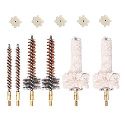 NIDAYE 6 Pack Bronze Bore Brush/Chamber Brush/Chamber...
