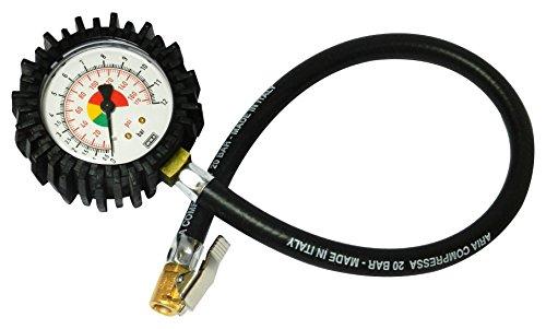 Bamax BX106FM - Manómetro de medida de presión de neumáticos...