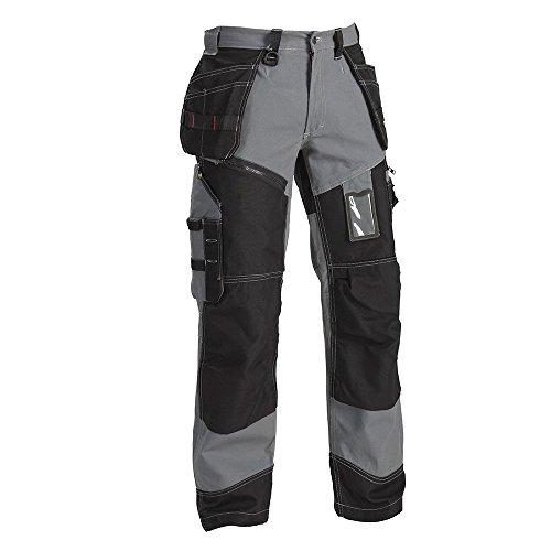'blåklaeder Workwear pantaloni alla zuava artigiano'X1500, 1pezzi, 67–15001370, Grigio, 67-15001370-9499-D30