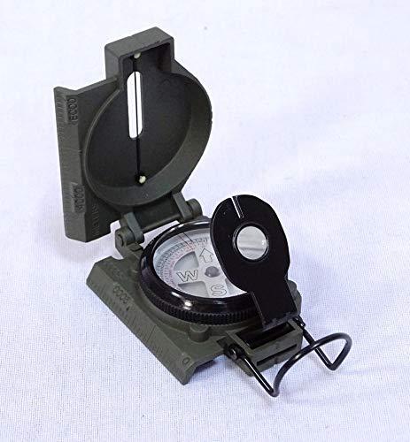 linoows Peilkompass, Marschkompass, Ölgedämpfte Bussole, Kompass, Magnetkompass Metall