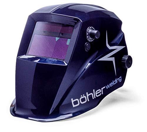 Schweißhelm Böhler Guardian 50 mit Echtfarbkassette, Automatik-Schweißhelm mit 4 Sensoren, CE Klassifizierung 1/1/1/2, Externer Schleifmodus, Umschlatgeschwindigkeit 0,1 ms