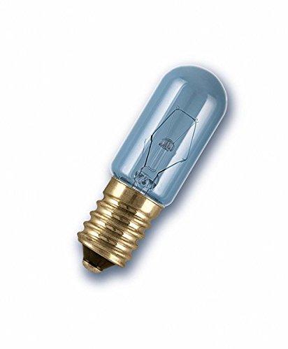 OSRAM Frigorífico Bombilla Incandescente, E14, 15 watts, Trasparente, 1 Unidad