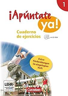 ¡Apúntate! - ¡Apúntate ya! - Differenzierende Schulformen - Band 1 - Cuaderno de ejercicios mit CD-ROM und eingelegtem För...