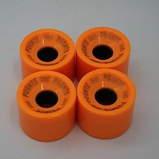 Forfar 70mm51mm ruedas de skateboard skateboaring ruedas alta elasticidad duradera Glide flexible para Longboard Junta de pescado del Deporte