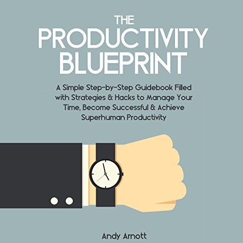 The Productivity Blueprint audiobook cover art