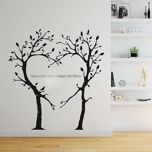 Adesivo Árvore Coração Nunca Foi Sorte Sempre Foi Deus Decoração Para Sala Quarto