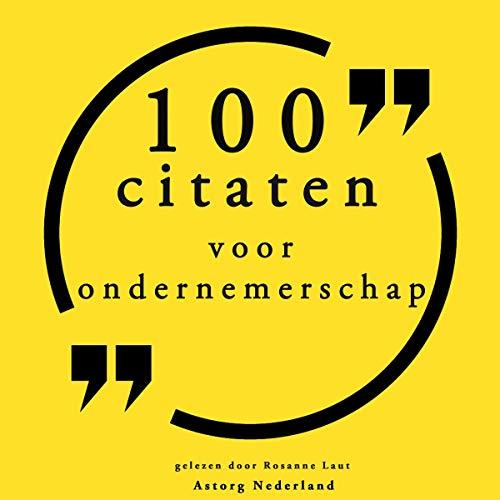 100 citaten voor ondernemerschap cover art