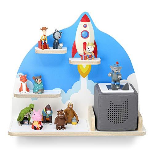 stadtecken kinderrek voor muziekbox, mini-raketten, geschikt voor de geluidsbox en ca. 20 Tonies I cadeau-idee I spelen I verzamelen I opstellen of ophangen