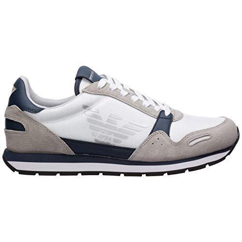 Emporio Armani Herren Sneaker Bianco 41 EU