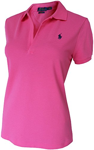 Ralph Lauren Volley Polo-Hemd Gr.L, Polo Pony, PINK, Skinny FIT