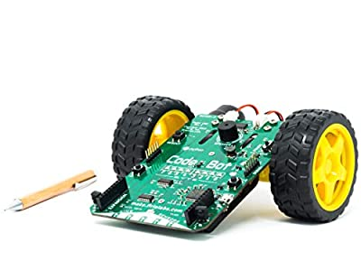 Firia Labs CodeBot: Python Programmable Robot Kit, STEM Learning and Coding for Kids, Robotics Curriculum and Classroom Teaching Resources