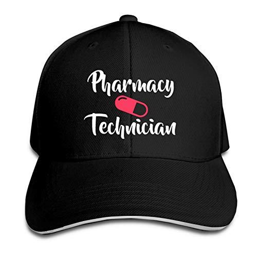 Cute Pharmacy Technician Pill Gift Unisex Fashion Classic Baseball Cap Driver Cap Dad Hat Black