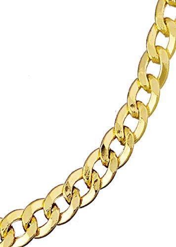 14k Gold Cuban Curb Bracelet & FREE Gift