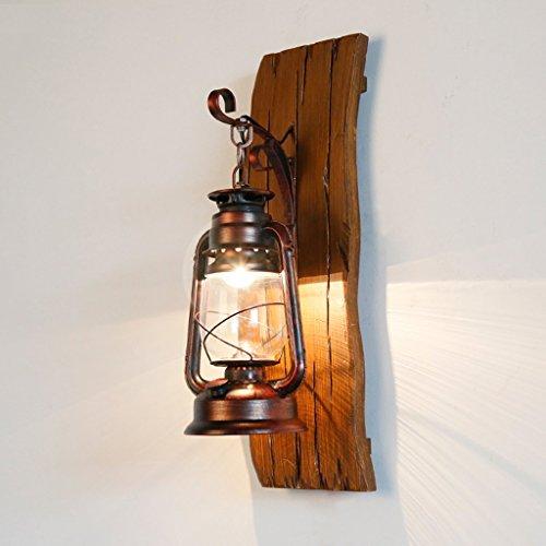GKJ lámpara de pared, americano suelos ruraux punta de hierro lámparas de petróleo lámparas de petróleo