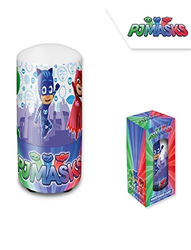 Disney- PJ Masks Lampe De Table De Nuit, PJ17102