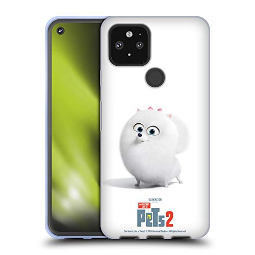 Head Case Designs Offizielle The Secret Life of Pets 2 Gidget Pomeranian Hund Darsteller Poster Soft Gel Handyhülle Hülle Huelle kompatibel mit Google Pixel 5